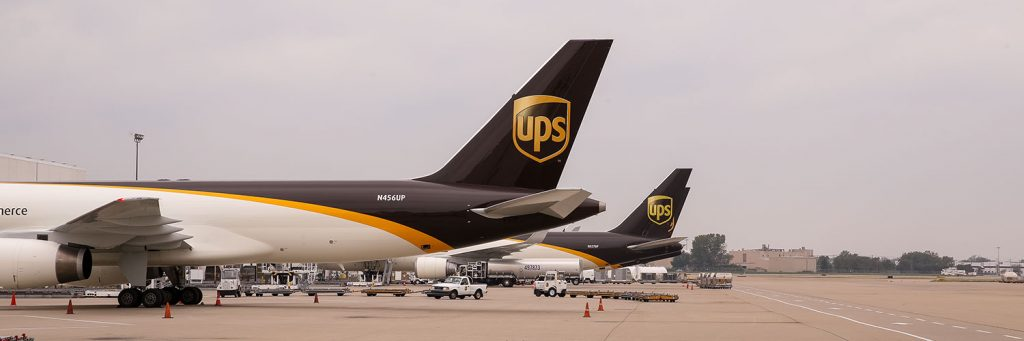 ups airplanes