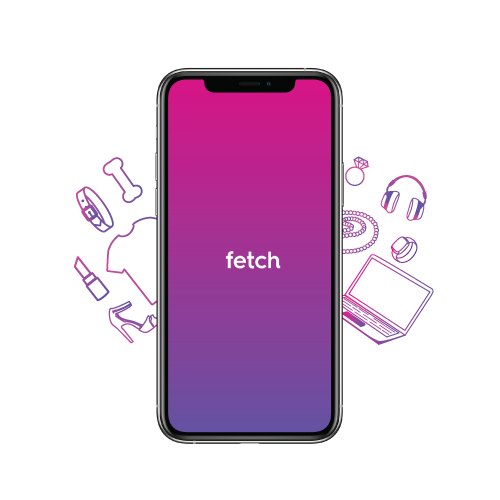 fetch delivery app mobile screen