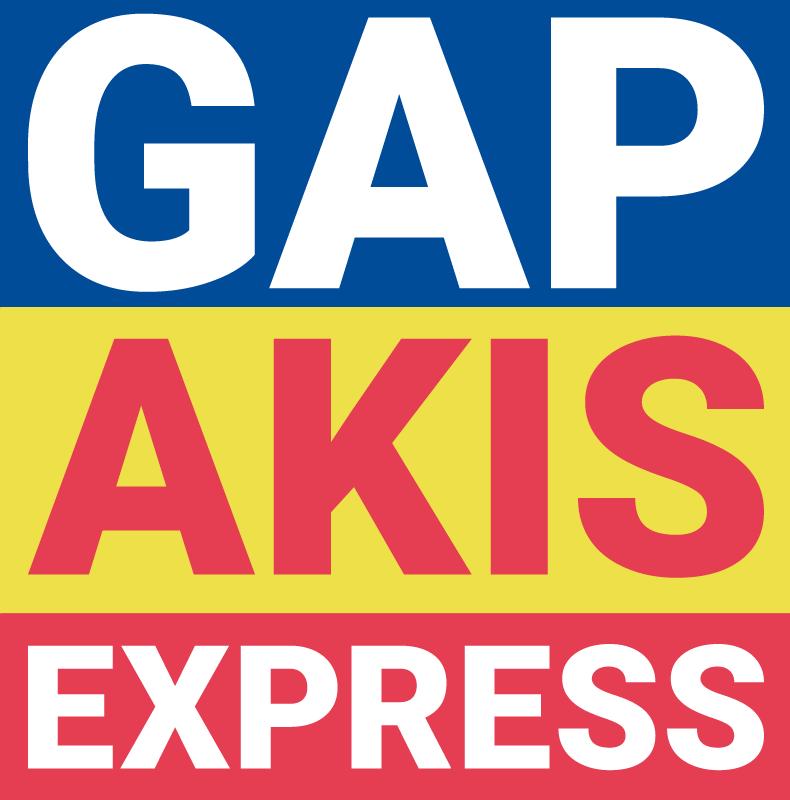 gap akis express logo aloupos